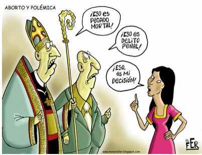 Noticias Criminología. Humor, aborto y curas de la ICAR. Marisol Collazos Soto