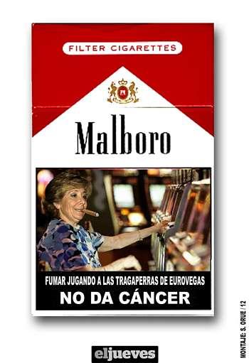 Noticias criminología. Fumar en Eurovegas no producirá cáncer. Marisol Collazos Soto
