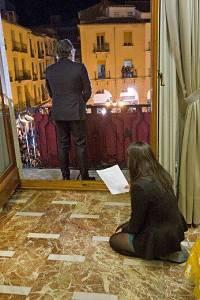 Noticias criminología. Discurso del alcalde del PP con apuntadora oculta. Marisol Collazos Soto