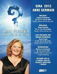 Noticias criminología. Un incrédulo en el espectáculo de la médium Anne Germain. Marisol Collazos Soto