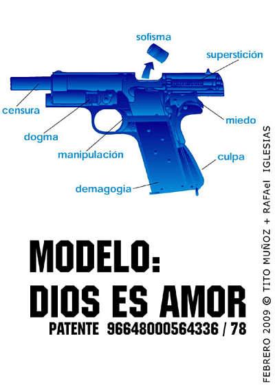 Noticias Criminología. Patente de arma, dios es amor. Marisol Collazos Soto