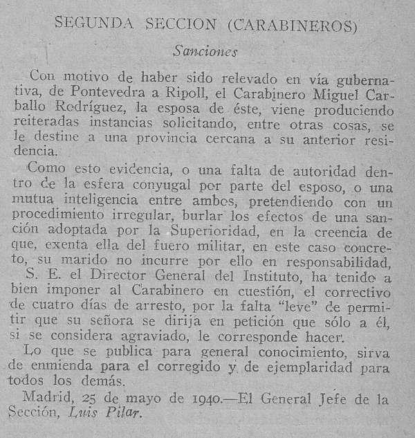 Noticias Criminología.  Sanción por falta de autoridad en la esfera conyugal. Marisol Collazos Soto