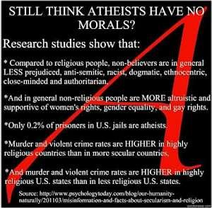 Noticias criminología. Mandamientos ateos. Marisol Collazos Soto