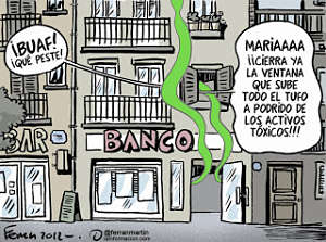 Noticias criminologa. Activos txicos de los bancos. Marisol Collazos Soto