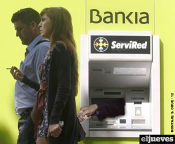 Noticias criminología. Humor con los cajeros automáticos de Bankia. Marisol Collazos Soto