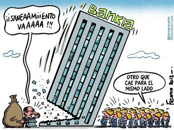 Noticias criminología. Bankia, otro banco que cae para el mismo lado. Marisol Collazos Soto