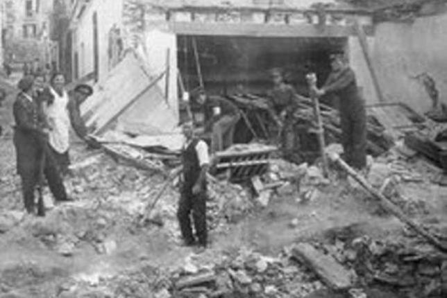 Noticias criminología. 75 años de la masacre del mercado de Alicante. Marisol Collazos Soto