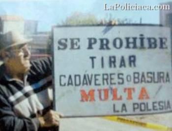 Noticias criminología. En algunos sitios de México consideran los cadáveres como la basura. Marisol Collazos Soto
