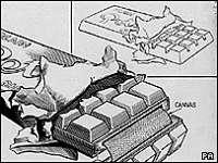 Noticias Criminología. Los Nazis pensaron hacer tabletas de chocolate explosivas. Marisol Collazos Soto