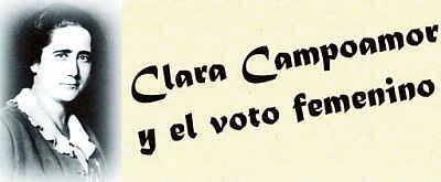 Noticias Criminología. Clara Campoamor y el derecho a voto de las mujeres  españolas. Marisol Collazos Soto