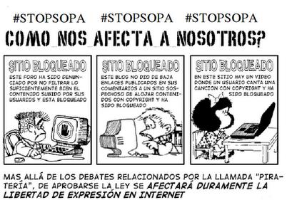 Noticias Criminología. ¿Cómo nos afecta SOPA?. Marisol Collazos Soto