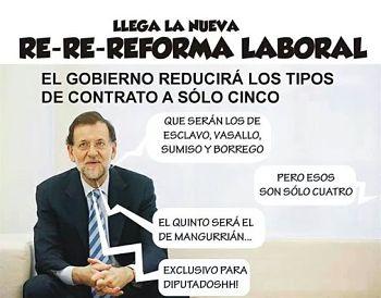 Noticias criminología. Nueva re-re-reforma laboral. Marisol Collazos Soto