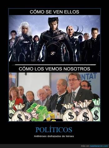 Noticias criminología. Como vemos a los políticos. Marisol Collazos Soto