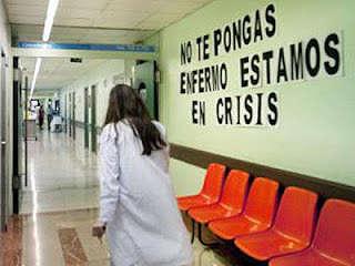 Noticias Criminología. Crisis afecta a hospitales, no te pongas enfermo. Marisol Collazos Soto