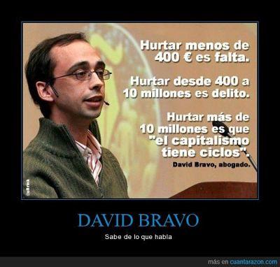 Noticias criminología. El abogado David Bravo sabe lo que dice. Marisol Collazos Soto