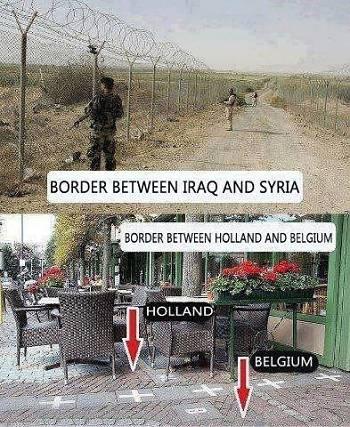 Noticias criminología. Diferencias entre fronteras. Marisol Collazos Soto