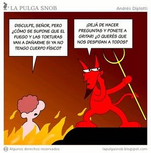 Noticias Criminología. Humor sobre el infierno. Marisol Collazos Soto