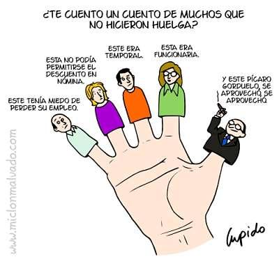 Noticias Criminología. Empreasrios huelga. Marisol Collazos Soto