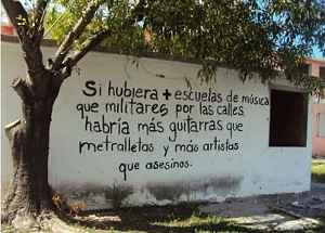 Noticias Criminología. EN Colombia, escuelas frente militares. Marisol Collazos Soto