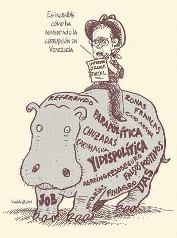 Noticias criminología. Humor, expresidente de Colombia, Uribe. Marisol Collazos Soto