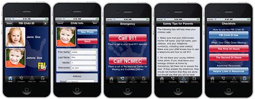 Noticias Informática. FBI desarrola apliación para el iPhone, sobre niños perdidos. Marisol Collazos Soto