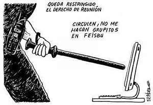 Noticias criminología. Dos años de prisión como mínimo por convocar protestas a través de Internet (PP). Marisol Collazos Soto