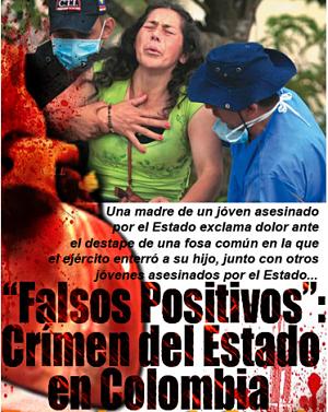 Noticias Criminología. Falsos positivos ejército Colombia. Marisol Collazos Soto