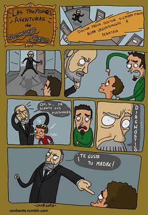 Noticias criminología. Humor con Sigmund Freud. Marisol Collazos Soto
