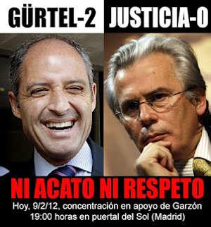 Noticias Criminología. La justicia en España, Camps y Garzón. Marisol Collazos Soto