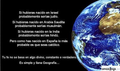 Noticias Criminología. Fe rela y geografía. Marisol Collazos Soto
