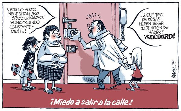 Noticias Criminología. Miedo a slair a la calle por JMJ de la ICAR. Marisol Collazos SOto