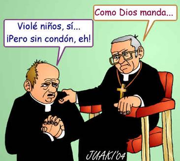 Noticias Crimonología. Iglesia Católica y pedofilia. Marisol Collazos Soto