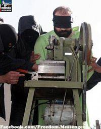 Noticias criminología. Irán revela máquina para amputar dedos a ladrones. Marisol Collazos Soto