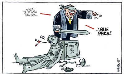 Noticias Criminología. Humor, juicios a Garzón. Marisol Colazos Soto