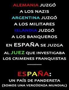 Noticias Criminología. Juicio a Garzón una vergüenza para España. Marisol Collazos Soto