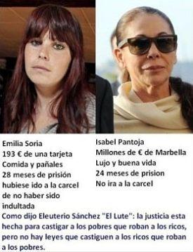 Noticias criminología. Caso real de la injusticia de la Justicia en España. Marisol Collazos Soto