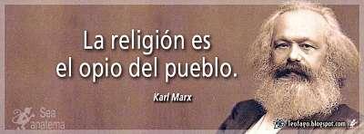 Noticias criminología. La religión es el opio del pueblo. Marisol Collazos Soto