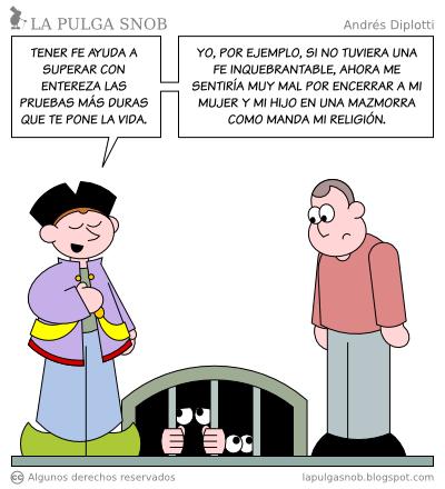 Noticias Criminología. La fuerza de la fe, humor. Marisol Collazos Soto