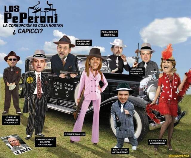Noticias criminología. PP y los Peperoni. Marisol Collazos Soto