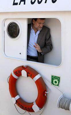 Noticias Criminología. Mariano Rajoy (PP) en un barco de narcotraficanes. Marisol Collazos Soto