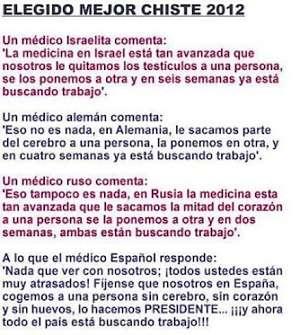 Noticias criminología. El mejor chiste de Mariano Rajoy. Marisol Collazos Soto