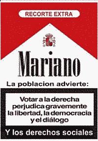 Noticias Criminología. Mariano Rajoy es un peligro para la democracia. Marisol Collazos Soto