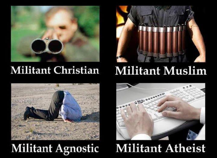 Noticias Criminología. Militantes religiones, ateos y agnósticos. Marisol Collazos Soto