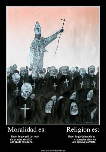 Noticias criminología. Moralidad frente religión. Marisol Collazos Soto