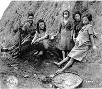 Noticias Criminología. Mujeres consuelo, esclavas sexuales japonesas durante la Segund Guerr Mundial. Marisol Collazos Soto