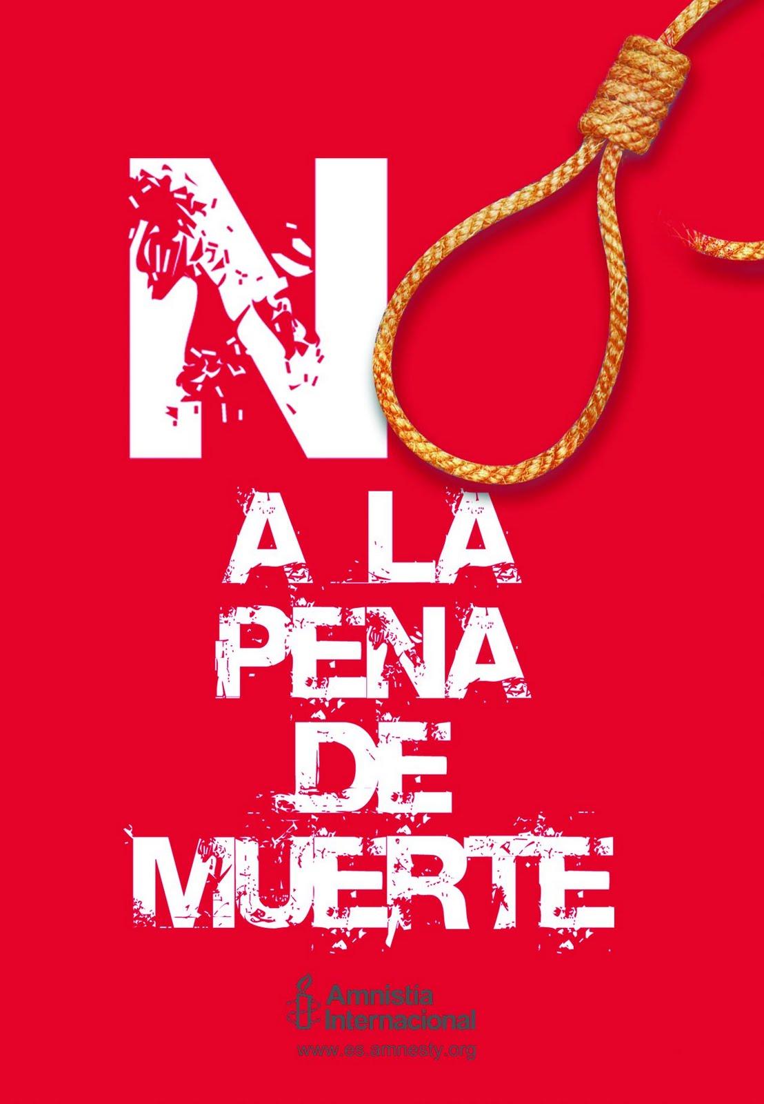 Noticias Criminología. No a la pena de muerte. Marisol Collazos Soto