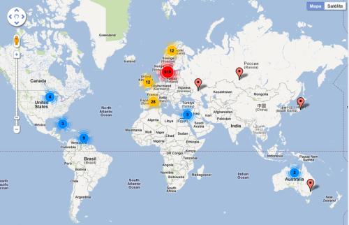 Noticias Criminología. Mapa crímenes novela negra Suecia. Marisol Collazos Soto