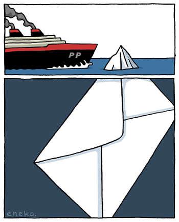 Noticias criminología. El PP se aproxima a un iceberg. Marisol Collazos Soto
