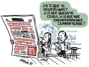 Noticias criminología. Una cloaca llamada España. Marisol Collazos Soto