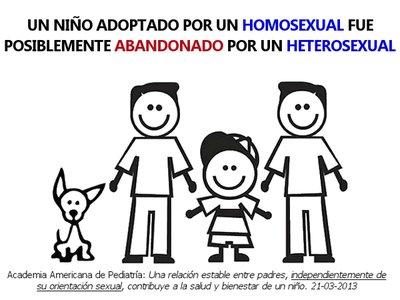 Noticias criminología. Padres independientemente de su orientación sexual. Marisol Collazos Soto